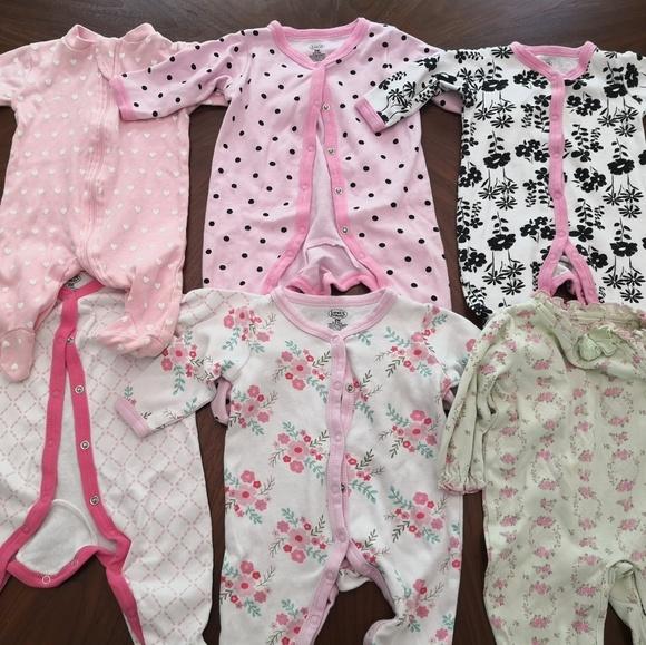 Other - 0-6 month pajama Bundle